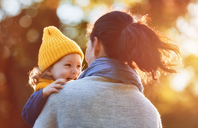 Mother and daughter having smiling at each other - Who Needs Life Insurance?